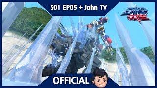Download DinoCore & John TV | Finally, Core Change! | 3D | Dinosaur Animation | Season 1 Episode 5 Video
