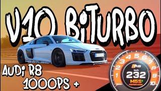 Download Die erste Fahrt in Benni's Audi R8 BiTurbo mit über 1000PS! - 100-200 in 4,0s | Philipp Kaess | Video