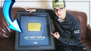 Download YOUTUBE'S BIGGEST FAIL (UNBOXING MY GOLDEN PLAY BUTTON) - LIVE REACTION Video