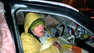 Download Pani Ela mieszka w samochodzie jest -12 stopni cz1 Video
