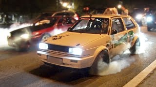 Download Flame Spitting VW hits the Streets! | 1000+ AWHP! Video