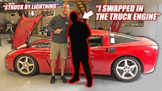 Download We Found the Auction Corvette's Previous Owner... The Story is INSANE! Video