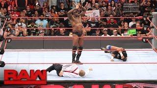 Download Titus O'Neil brutalizes Bob Backlund: Raw, Aug. 22, 2016 Video