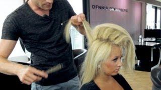 Download Hair Tutorial: Hochsteckfrisur selber machen - Haare stylen mit #Dennis Teil 1 Video