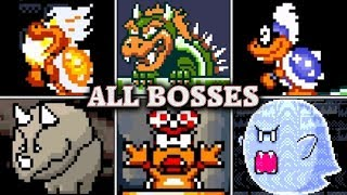 Download Super Mario World - All Boss Fights & Ending (No Damage) Video