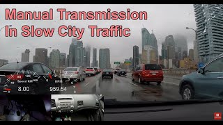 Download Driving Manual Transmission In Slow Moving Traffic Video