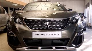Download 2017 Peugeot 3008 SUV 1.2 Puretech 130 Start Up and Full Review Interior/Exterior Video
