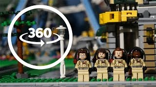 Download VR 360 LEGO Ghostbusters Protect Lego City Stop Motion Animation Video