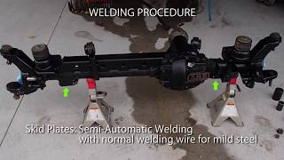 Download DANA30 Axle upgrades for Jeep JK wrangler RHD with ball joint axle seal replacement Video