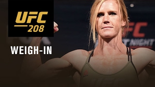 Download UFC 208: Official Weigh-in Video
