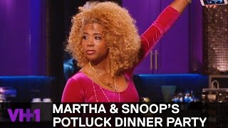 Download Kelis & Fat Joe Play An Interesting Dinner Game | Martha & Snoop's Potluck Dinner Party Video
