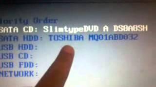 Download كيفية الاقلاع من قارئ الاقراص في اجهزة الكمبيوتر ا Video