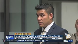 Download Man who knowingly spread HIV going to jail Video