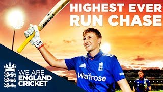 Download England's Highest Successful ODI Run Chase: England v New Zealand 4th ODI 2015 - Extended Highlights Video