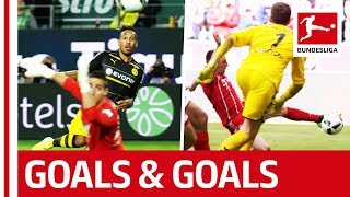 Download Aubameyang, Lewandowski & Co. - Bundesliga Goals Galore from a different point of view Video
