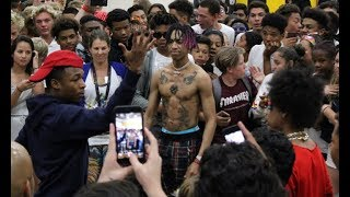 Download AYO & TEO Dance Battle Pep Rally Was CRAZY Video