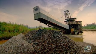 Download Beached Gold Dredge | Gold Rush Video
