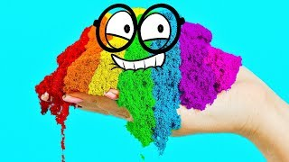 Download COLORFUL PAINTING WITHOUT PAINTS AND BRUSHES! Video
