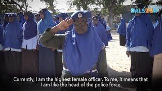 Download Askariyadda ugu darajo sarraysa Soomaaliya - Highest female police officer in Somalia. Video