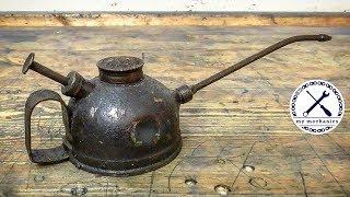 Download Antique Dented Oiler - Perfect Restoration Video
