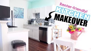 Download DIY SMALL KITCHEN HACKS MAKEOVER! Low Cost! | OhhMyAnnie Video