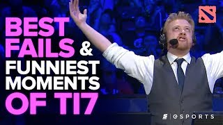 Download The BEST Fails and FUNNIEST Moments of The International 2017 (Dota 2) Video