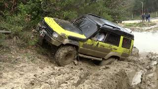 Download Land Rover Discovery TD5 x3 & Range Rover Classic v8 ''extreme offroad'' Video