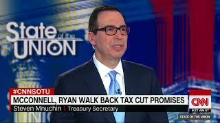 Download Treasury Secretary Steven Mnuchin defends Trump's tax plan (full interview) Video