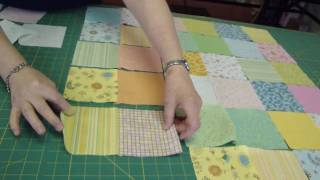 Download Make a Baby Quilt - Part 1 - Fabric Selection & Assembly Video