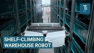 Download This French Retailer Uses Shelf-Climbing Robots In Its Warehouse Video