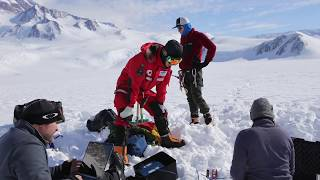 Download Scientists Bury GPS in Antarctic Ice to Measure Effects of Tides Video