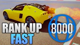 Download FASTEST WAY TO RANK UP IN GTA 5 ONLINE! (GTA 5 Best RP Level Up) Video