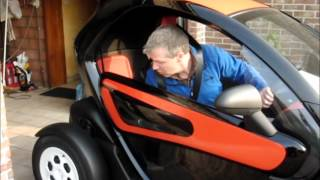 Download Renault Twizy, a funny, but useful electric car. Video