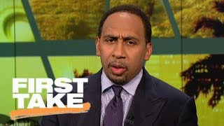 Download Stephen A. Smith calls ESPN's #NBArank 'garbage' for Carmelo Anthony rating | First Take | ESPN Video