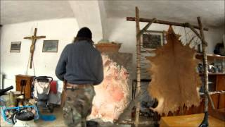 Download Hand made leather, native Indian skills II. Video