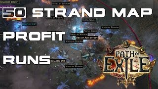 Download Path of Exile: Result of 50 Strand Map Runs - Cost & Returns! Video