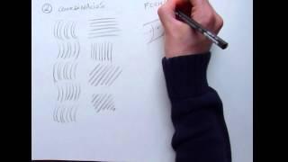 Download Tecnicas para aprender a dibujar - el trazo y ejercicios para calentar Video