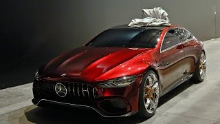 Download Mercedes AMG GT4 Concept - DRIVING Video