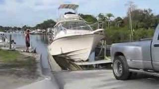 Download Grady White 36 Extreme Boat Launch Video