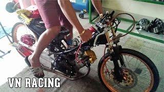 Download Dàn hơi xe độ - Exciter độ trái 78mm (Vũng Tàu) đạp muốn gãy chân Video