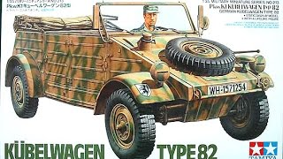 Download In Box Review 1/35 Tamiya Kubelwagen Type 82 Video