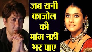 Download Sunny Deol missed the CHANCE to romance Kajol; Here's why | FilmiBeat Video