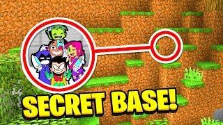 Download Minecraft : WE FOUND TEEN TITANS GO SECRET BASE! (Ps3/Xbox360/PS4/XboxOne/PE/MCPE) Video