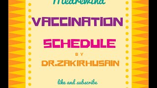 Download Vaccination schedule India Video