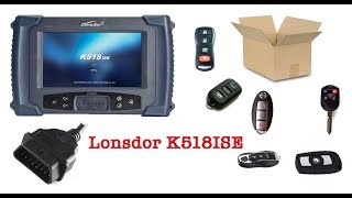 Download First Look at the Lonsdor K518ISE Car Key programmer Video