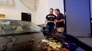 Download Sheamus takes Alberto Del Rio's luxury car for a spin: Raw, August 6, 2012 Video