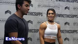 Download would you date a girl who has more muscles then you? EsNews Boxing Video