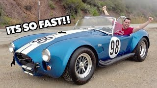 Download THIS 1965 SHELBY COBRA IS FASTER THAN A LAMBORGHINI Video