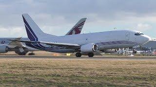 Download Edinburgh Airport Plane Spotting Winter 2018 | 787 767 737MAX A320s & More Video