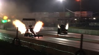Download Top Fuel Dragster -vs- Nitro Fuel Altered Video